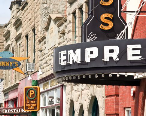 Empress Theatre- Fort Macleod, Alberta