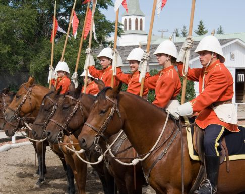 Musical Ride in Fort Macleod