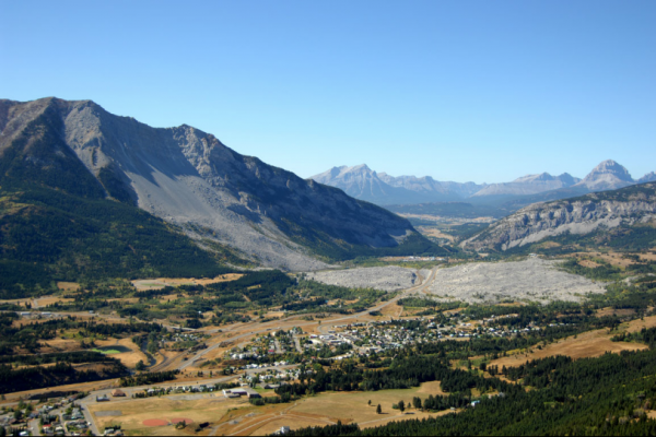 Frank Slide Historic Site